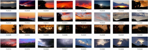 ciels nuages